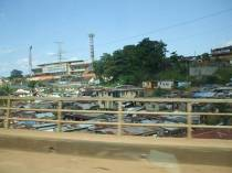 Picture 2: Crowded housing at risk of cholera